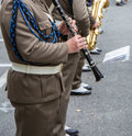 Military band Royalty Free Stock Photo
