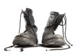 Military boots Royalty Free Stock Images