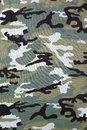 Military Camouflage Background, Fabric Texture
