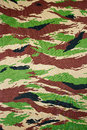 Military camouflage cloth Royalty Free Stock Image