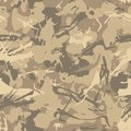 Military camouflage, texture repeats seamless. Camo Pattern for Army Clothing.
