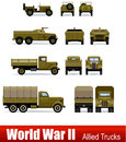 Military cars Royalty Free Stock Images