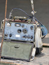 Military chinese radio Royalty Free Stock Image