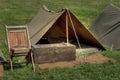 Military Encampment Royalty Free Stock Photo