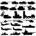 Military equipment.