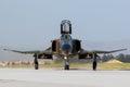 Military F4 Phantom fighter jet Royalty Free Stock Photo