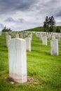 Military graveyard Royalty Free Stock Photo