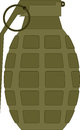 Military grenade use this for a t shirt Royalty Free Stock Image