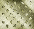 Military grunge background with stars Royalty Free Stock Images