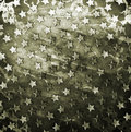 Military grunge background with stars Stock Image