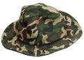 Military khaki hat Royalty Free Stock Photo
