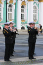 Military Music Stock Image