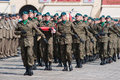 Military parade wroclaw august on july in wroclaw poland Royalty Free Stock Images