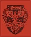 Águila divisa diseño