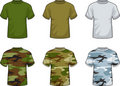 Military Shirts Stock Images