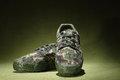 Military Shoes Royalty Free Stock Photos