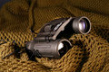 Military spyglass Royalty Free Stock Photos