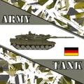 Military tank german army.