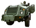 Military vehicle armed Stock Photography