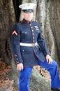 Militär man Arkivfoto