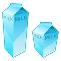 Milk Carton Stock Image
