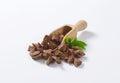 Milk chocolate pieces Royalty Free Stock Photo