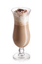 Milk and coffee cocktail Royalty Free Stock Photo