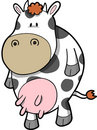 Milk Cow Vector Royalty Free Stock Photos