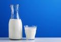 Milk in the jug Stock Photos