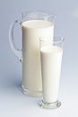 Milk jug. healthy diet Royalty Free Stock Image