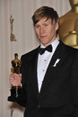 Milk screenplay writer dustin lance black st academy awards kodak theatre hollywood february los angeles ca picture paul smith Stock Photos