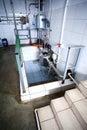 Milk sterilization unit Stock Photography