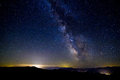 The Milky Way, Washington State Royalty Free Stock Photo