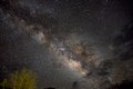 The milky way beautiful seen from dark skies of big bend national park Royalty Free Stock Photo