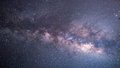 The milky way galaxy night sky Stock Photos