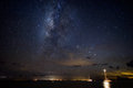 Milky Way Galaxy Over Sailboat...