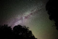 Milky Way in the night sky Royalty Free Stock Images