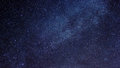 Milky way in night sky stars Royalty Free Stock Image