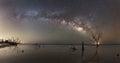 Milky Way Panorama at Botany Bay Beach