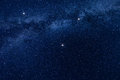 Milky Way Stars Background