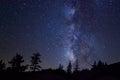 Milky Way At Yosemite National...