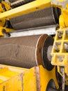 Mill machine cane sugar in plant Stock Photo