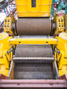 Mill machine cane sugar in plant Stock Images