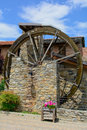 Mill monument to the resistance valgrana cn italy Stock Photography