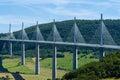Millau Bridge Royalty Free Stock Photo
