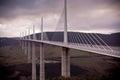 Millau Bridge, France Royalty Free Stock Photo
