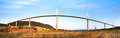 Millau Viaduct. Royalty Free Stock Photo