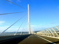 The Millau Viaduct Royalty Free Stock Photo