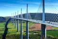 Millau Viaduct Royalty Free Stock Photo