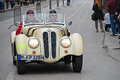 The mille miglia in brescia may bmw on race drivers forster carl peter forster carl ferdinad Stock Photos